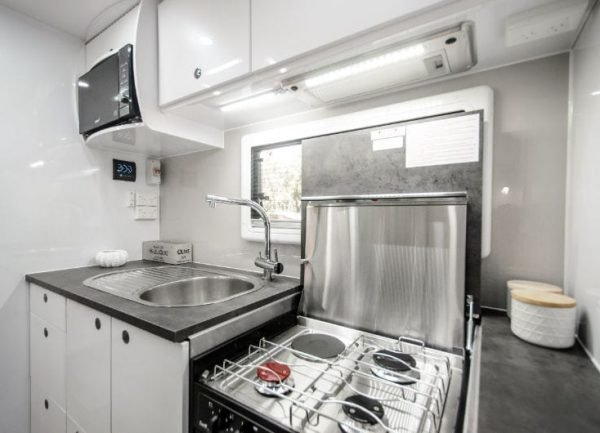 hornet interior kitchen